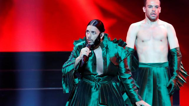 'Telemóveis' de Conan Osiris fica pelo caminho no Festival Eurovisão