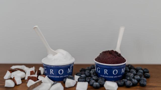 Gelataria GROM lança sabores de Coco e Mirtilo para brindar ao calor