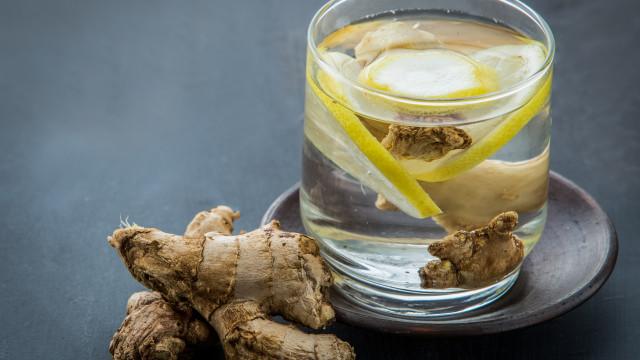 Água com gengibre: A bebida natural que emagrece e elimina gordura