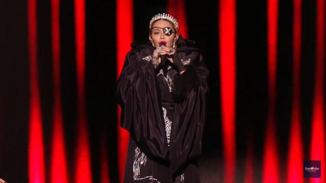 A aguardada atuação de Madonna (e a mensagem de paz) na Eurovisão