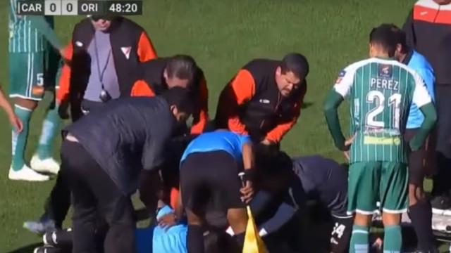 Árbitro cai inanimado e morre durante jogo da Primeira Liga da Bolívia