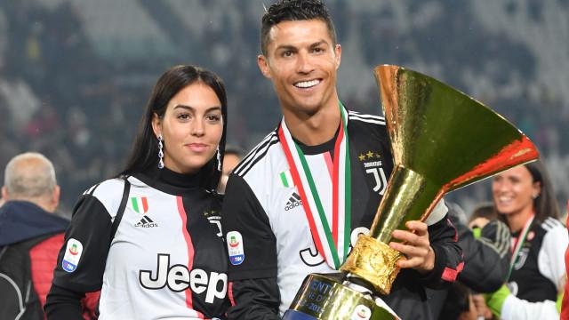 """Orgulhosa, Georgina Rodríguez elogia o seu """"campeão"""", Cristiano Ronaldo"""