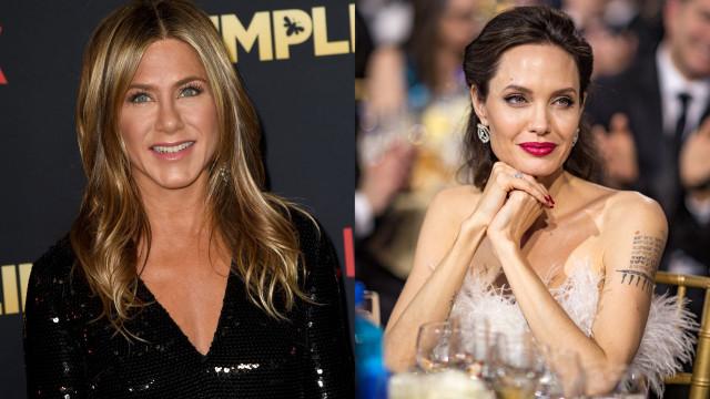As últimas palavras que Jennifer Aniston disse a Angelina Jolie