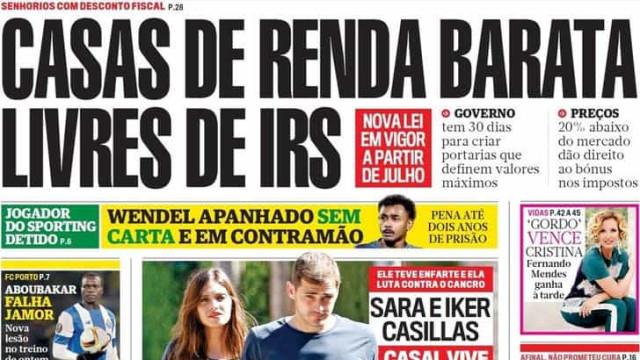 Hoje é notícia: Rendas baratas sem IRS; Proteção Civil em novela da SIC