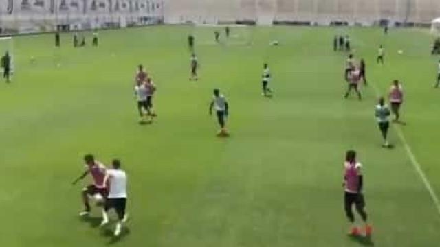 Juventus fez treino aberto e adeptos deliraram com este golo de Ronaldo
