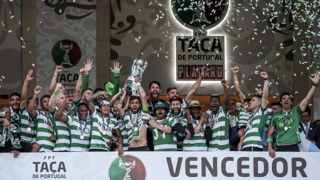 Primeiro-ministro parabeniza Sporting pela conquista da Taça
