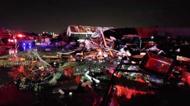 """Tornado destrói motel em Oklahoma. Há """"feridos graves e fatalidades"""""""