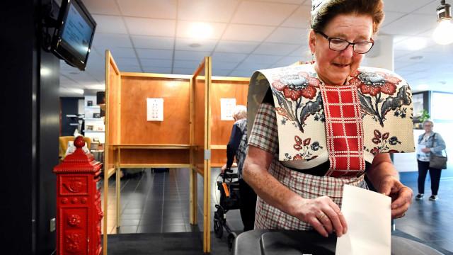 A Europa foi às urnas. O dia de votação em imagens... algumas inesperadas