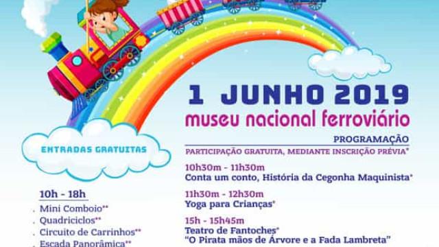 Dia da Criança com atividades gratuitas no Museu Nacional Ferroviário