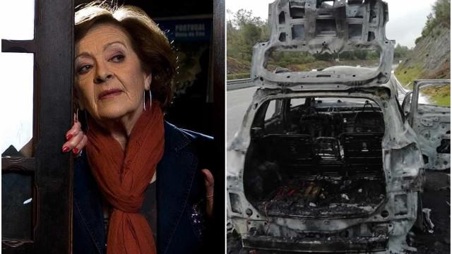 """Revoltada, Simone de Oliveira recorda acidente: """"Ficámos sem nada"""""""