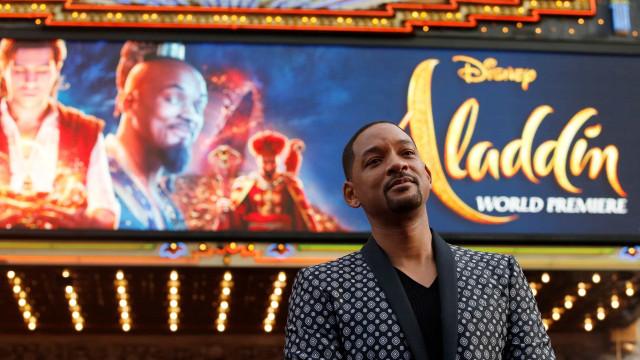 A magia de 'Aladdin' já vale a liderança do box-office