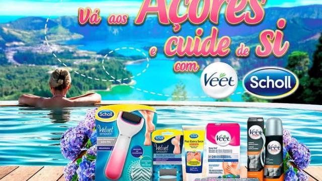 Veet e Scholl oferecem viagem aos Açores e experiências de Spa & Beleza