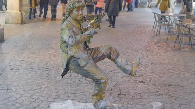 Espinho recebe o mais antigo festival de estátuas vivas do mundo
