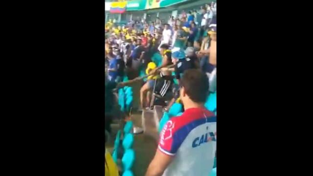Copa America: As imagens da violência que envergonham a Colômbia