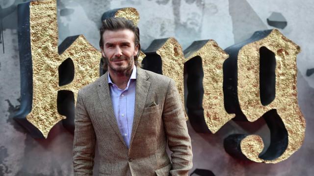 Com um pé em Hollywood, David Beckham abre produtora