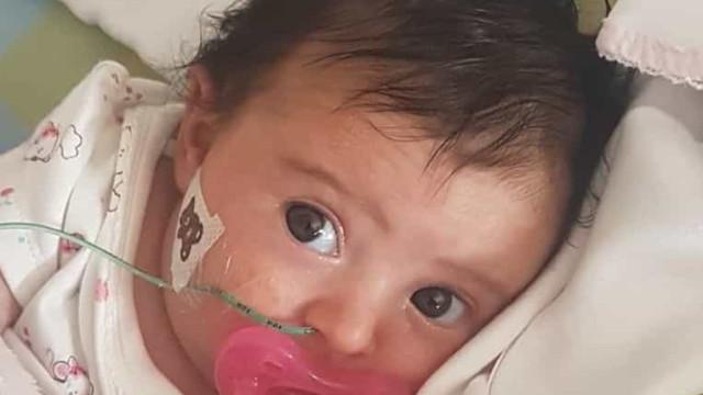 Matilde internada de urgência. Bebé precisa de medicamento para viver