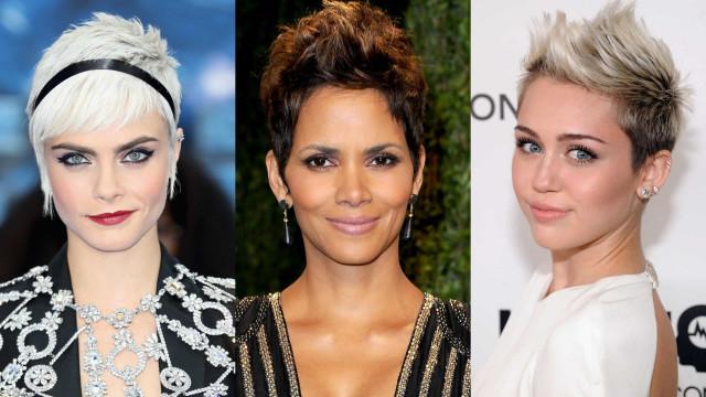 As famosas que brilham de cabelo curto