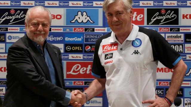 Presidente do Nápoles fala abertamente sobre interesse em James