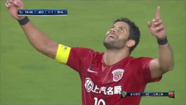 O golo de Hulk que deu os quartos da Champions asiática