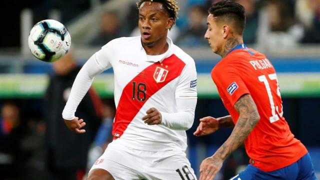 Benfica volta a rejeitar uma proposta por Carrillo