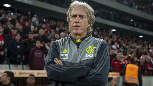 Emissários do Flamengo em Madrid para dar 'prenda' a Jorge Jesus