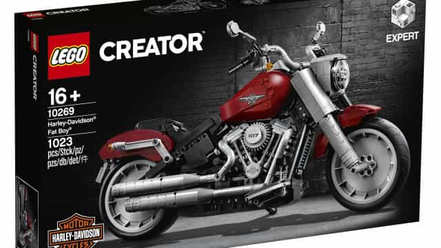 Lego e Harley Davison: Agora pode construir a mais icónica mota do mundo