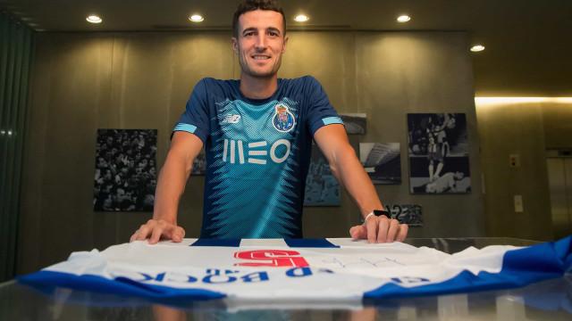 Golo de Marcano vale terceiro triunfo do FC Porto na pré-época