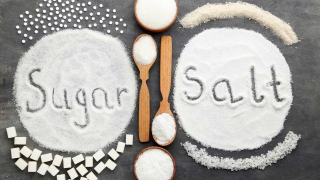 O que faz pior à saúde e ao corpo: Açúcar ou sal?