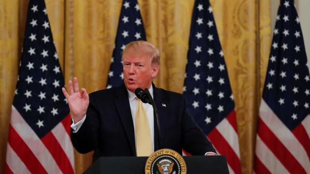 "Trump diz que EUA abateram drone iraniano após ""múltiplos avisos"""