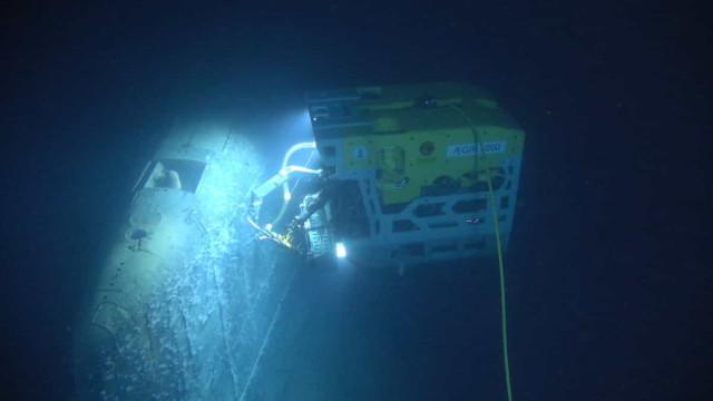 Registada radiação elevada em submarino soviético afundado há 30 anos