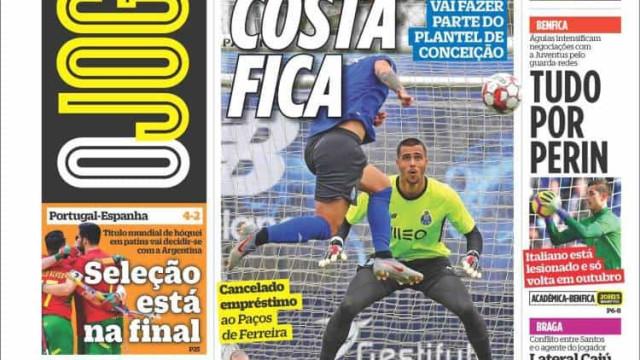 Cá dentro: Dragão 'ganha' um campeão europeu e Portugal sonha com o ouro