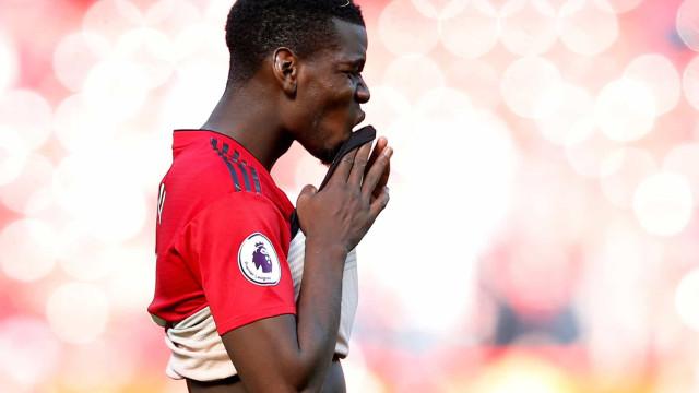 Questionado sobre saída do United, Pogba disse (apenas) isto