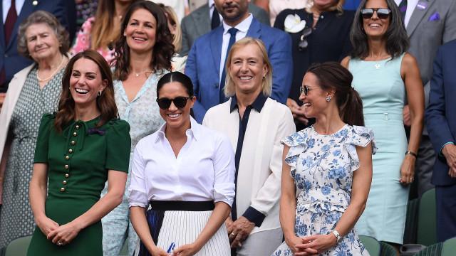 Saia que Meghan Markle usou em Wimbledon custa uma pequena fortuna
