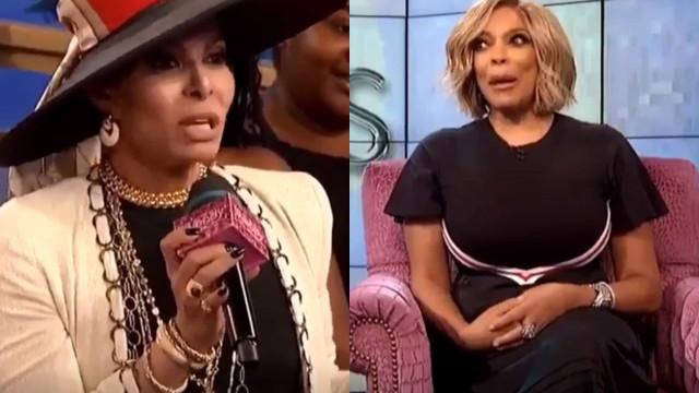 Wendy Williams corta palavra a José Castelo Branco durante programa de TV