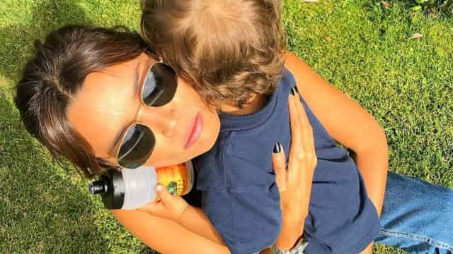 Maria Cerqueira Gomes revela as primeiras palavras do filho mais novo