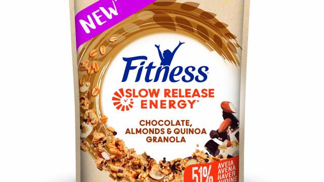 Fitness Granola lança novos sabores de quinoa, amêndoas e chocolate