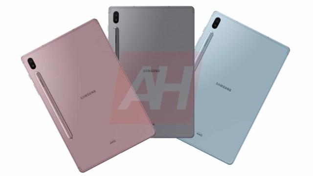 Fuga de informação revela imagens do novo tablet da Samsung