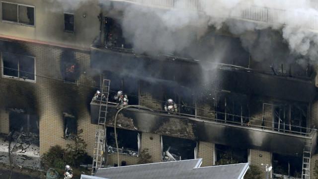"""Suspeito de fogo que matou 24 pessoas em Quioto gritou """"vocês vão morrer"""""""