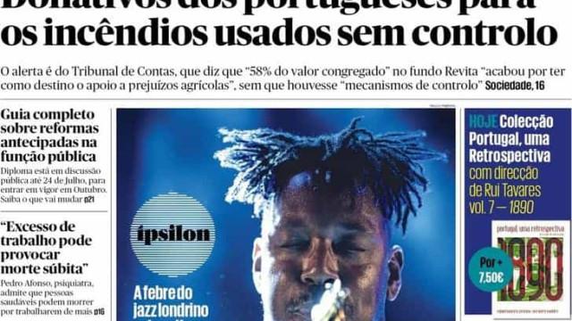 Hoje é notícia: Excesso de trabalho pode matar; Buraco no Metro de Lisboa