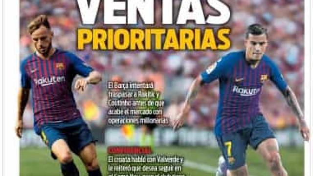 Lá fora: O novo 'tridente' merengue e as saídas no Barcelona