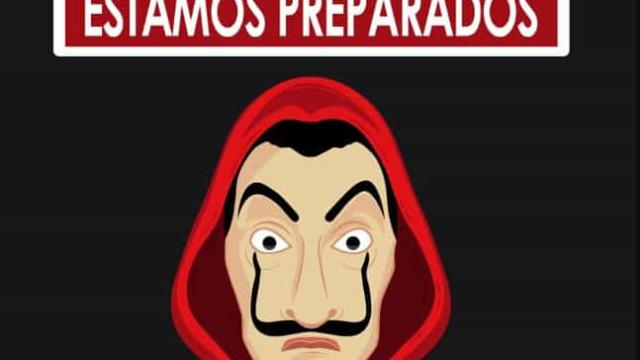 """'Casa de Papel': PSP em """"alerta máximo"""" e """"de olho no Professor"""""""