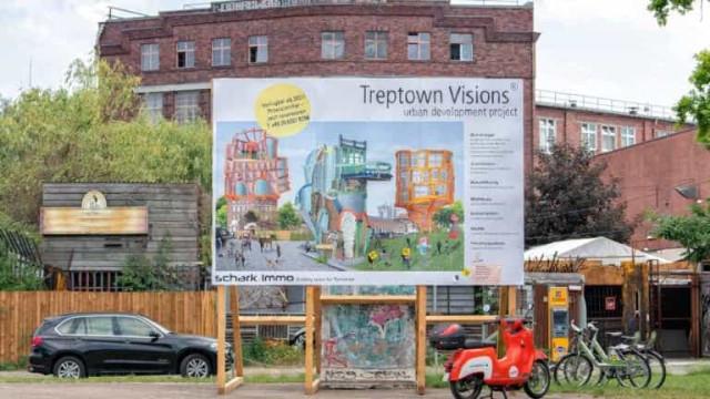 Artista alemã cria cartazes imobiliários fictícios contra a especulação