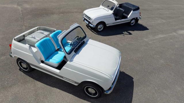Renault regressa ao passado e apresenta um 'concept' de 4L elétrico