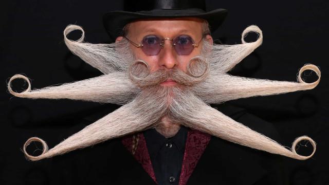 Barba e bigode: Quando a criatividade não tem limites