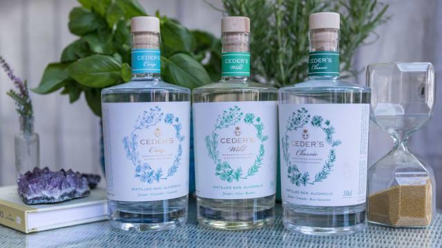 Gin-tónicos sem álcool são a proposta da CEDER'S para um verão perfeito