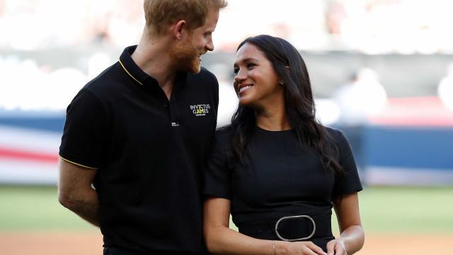 A mensagem do príncipe Harry para Meghan Markle no aniversário