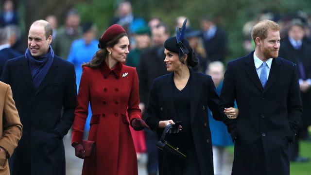 Mensagem enviada por Kate Middleton e William a Meghan Markle criticada