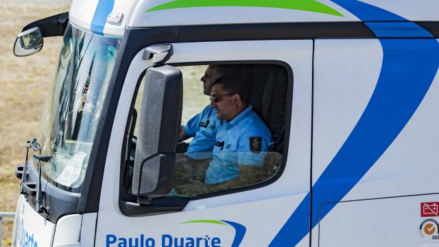 Militar da GNR a conduzir camião com combustível é notícia lá fora