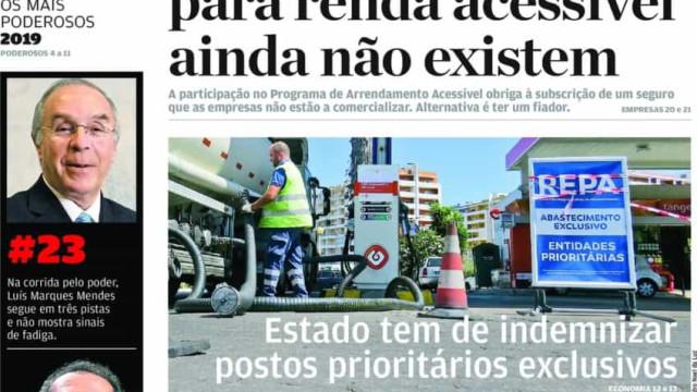 Hoje é notícia: Estado tem de indemnizar postos; Supermercados em alerta