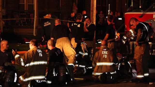 Incêndio em creche mata 5 crianças. Três eram filhos de um bombeiro local